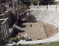 Античный театр в Пловдиве