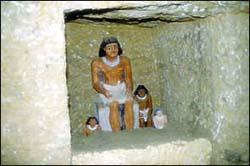 Скульптуры строителей пирамид из Гробниц