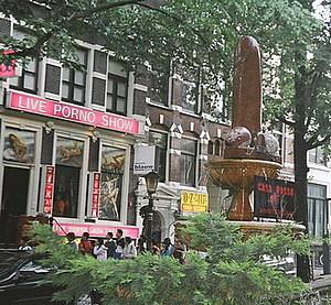 Амстердам / Амстердам. В Квартале Красных фонарей.